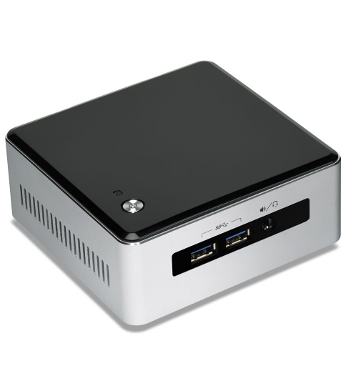 Intel® NUC 5I3RYH /4GB/120GB SSD/1TB HDD